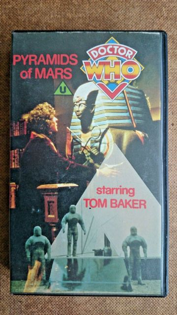 Doctor Who The Pyramids of Mars  Tom Baker